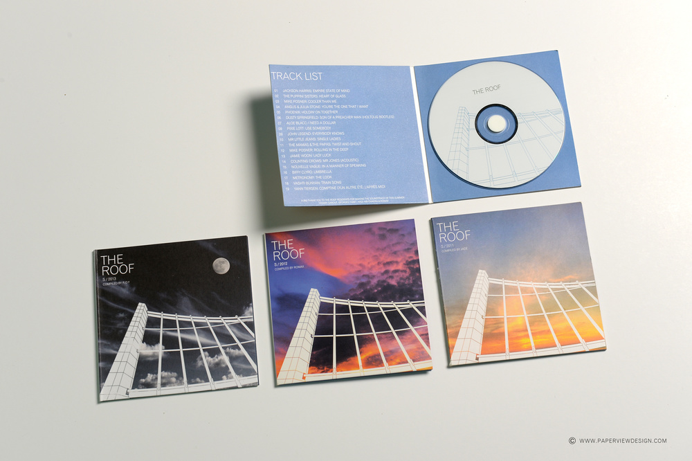 The Roof Bar Four Seasons CD Branding