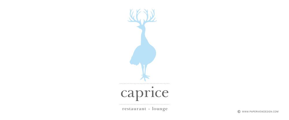 Caprice Restaurant Lounge Beirut Lebanon Logo