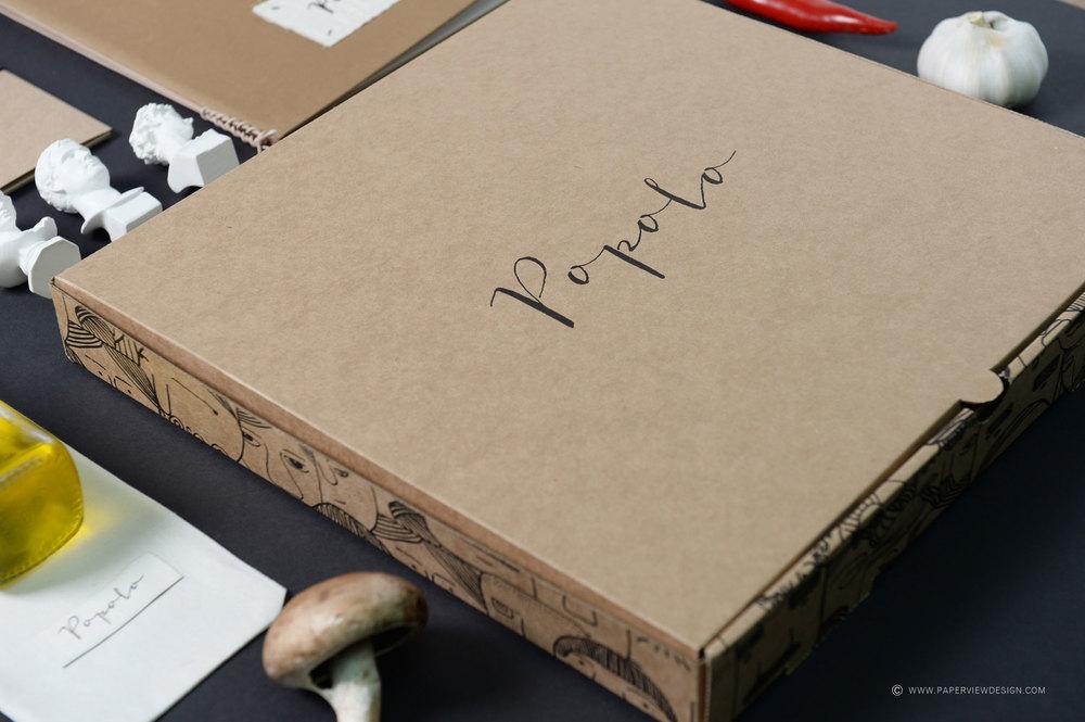 Popolo Beirut Pizza Box