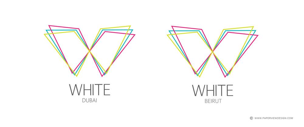 White Beirut - Dubai Logo