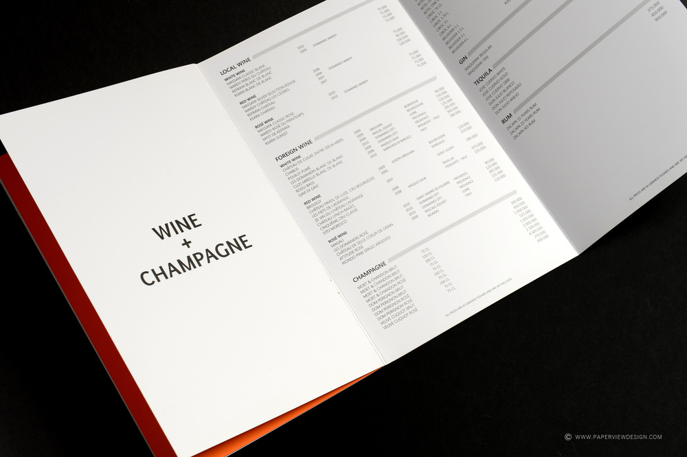 White Beirut - Dubai Wine Menu Inside Pages