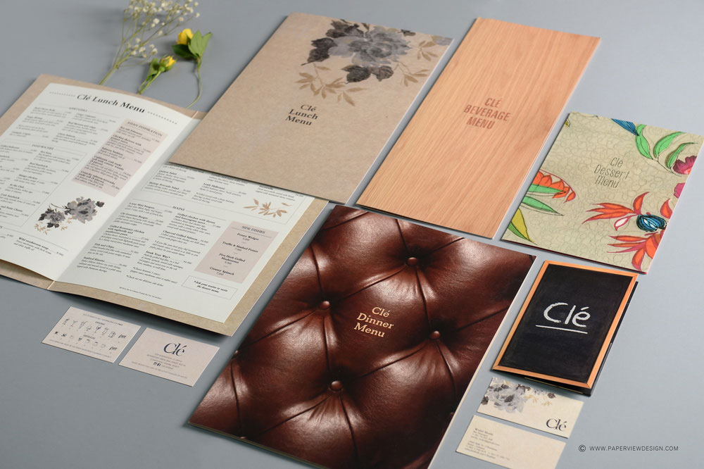 Cle Bar Beirut Branding Side View