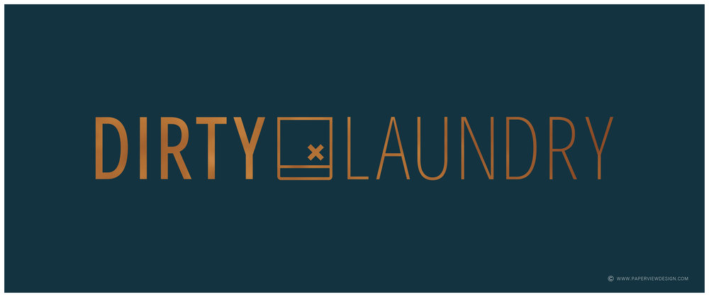 Logo-Dirty-Laundry-Pub-Restaurant-Bar-Design-Identity