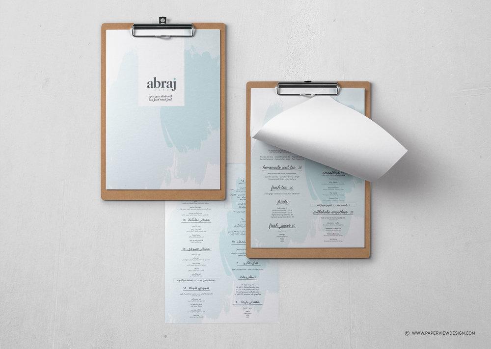 Abraj-Coffee-Menu-Inside-Sheets-Design-Branding