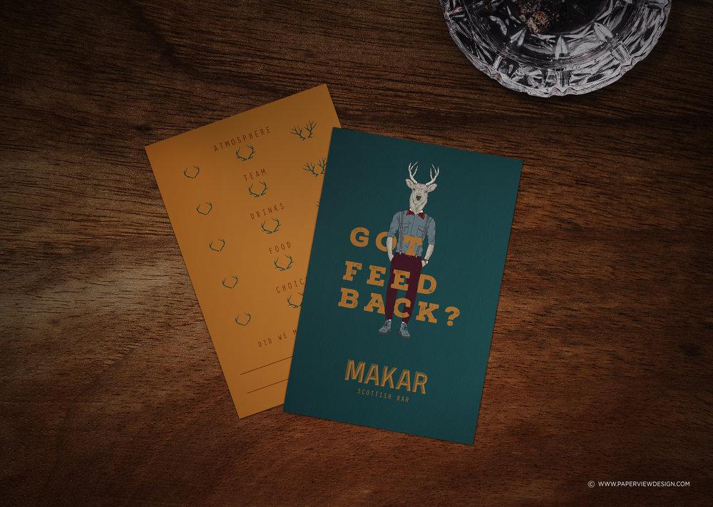 Makar-Restaurant-Scottish-Identity-CommentCard-Design-Branding
