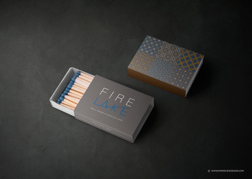 FireLake-Matches-Restaurant-Identity