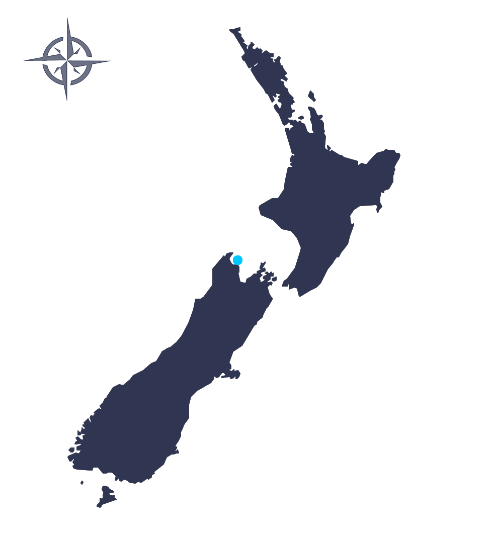 Split Apple Retreat New Zealand Map