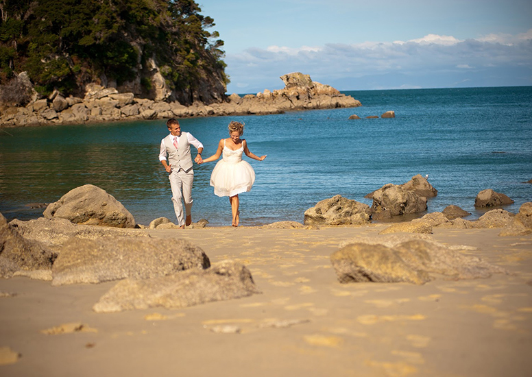 Wedding Ceremony  in Abel Tasman National Park
