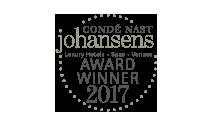 Conde Nast Johansens Award winner 2017