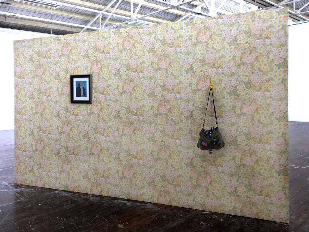 The Wall of Shamed, VCA graduate exhibition, install view