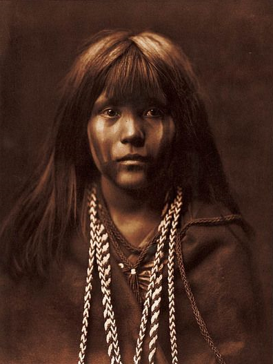 Mosa, Mohave - Edward Curtis