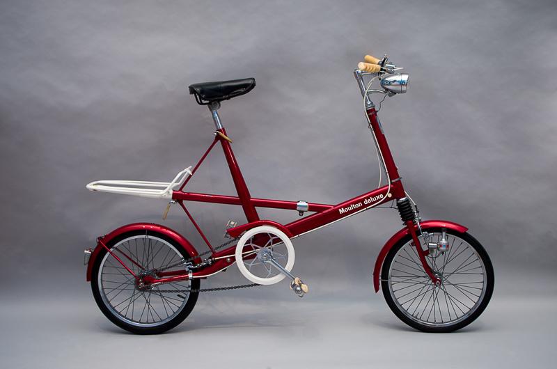 Moulton Deluxe, Design: Alex Moulton, Hersteller: Moulton Bicycles, 1963/64, Leihgeber: Verkehrsmuseum Dresden, Foto: Sarah Seefried, (c) SKD