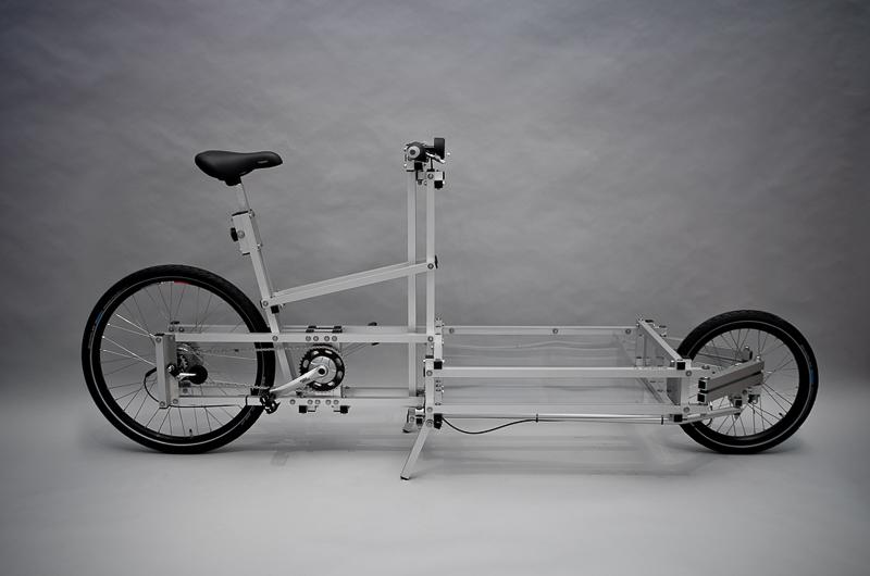 XYZ CARGO Bike, Design: N55 + Till Wolfer, Hersteller: XYZ Cargo Cycles, 2012, Foto: Sarah Seefried, (c) SKD