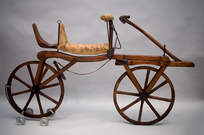 Laufmaschine, Design: Karl Drais, 1817, Replica, 1970, Foto: Sarah Seefried, (c) SKD