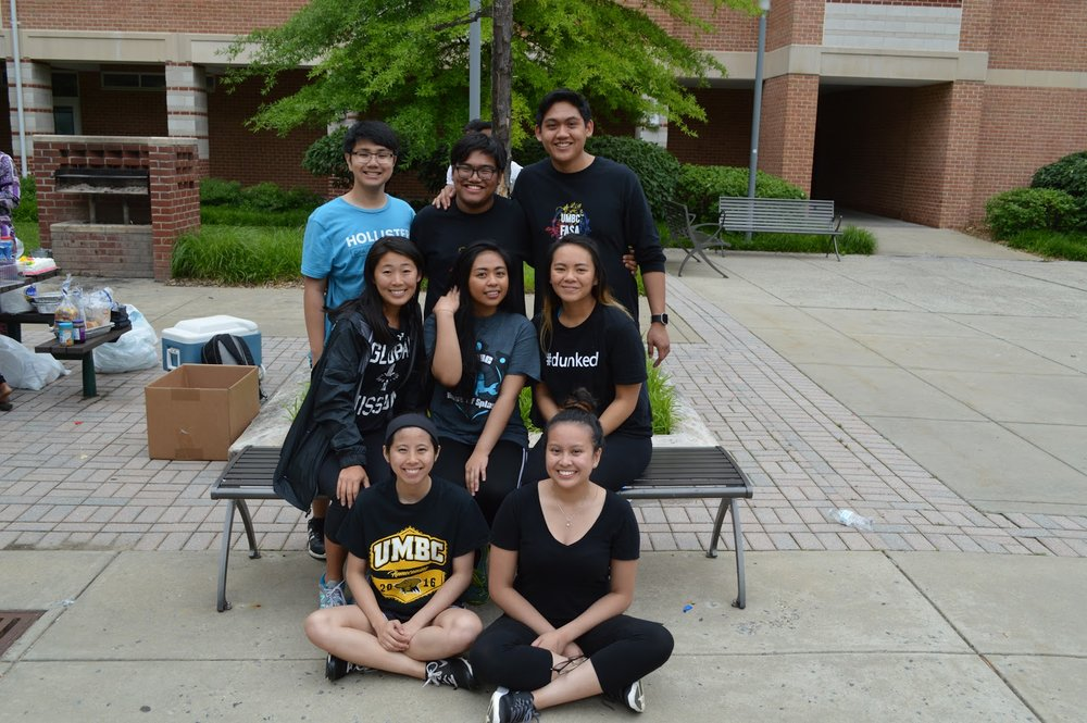 My last lineage picture during my undergrad years at UMBC. It's hard to believe that there are still so many people missing. Picture features (Renmar, AJ, Kaitlyn, Charlette, Debbie, Tiff, and Dinita) 😊