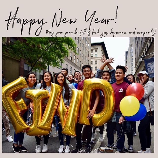 Happy New Years‼️ Wishing everyone a year full of many successes and growth ❤️Stay blessed and continue spreading love and positivity throughout the community. Hope everyone's enjoying their break and wish everyone luck on the upcoming spring semester 🥰  Love, National Eboard 2018-2019 ☺️