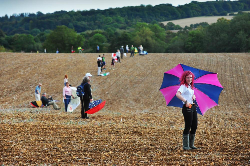Bring Your Brolly Day on the site