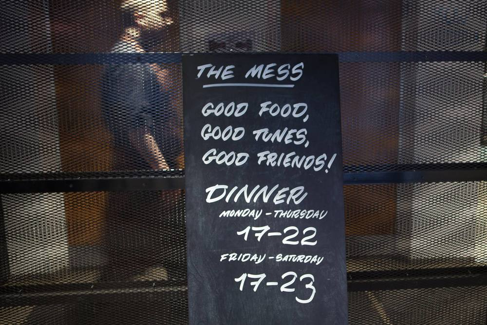 The Mess restaurant