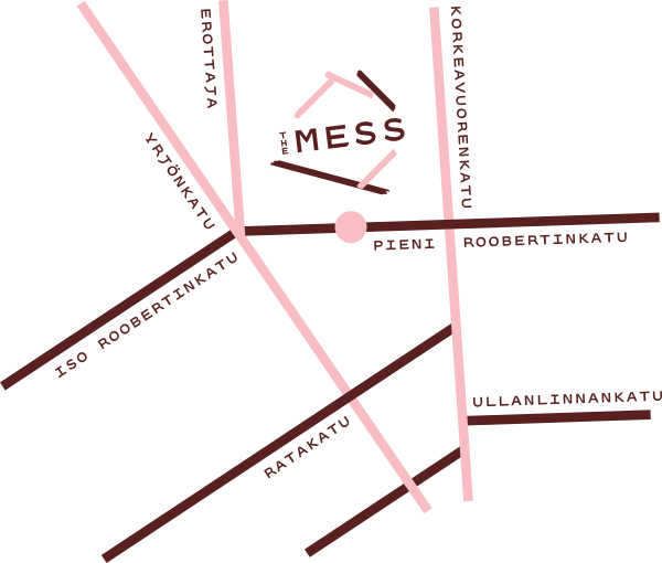 The Mess map