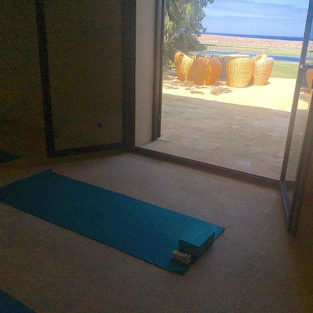 Yoga with a view.... #retreat2017  #eatwell #relaxation #breathe #holidayseason #meditation #yoga #healthyfood