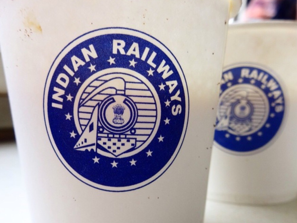 Indian Railways Chai Cups.