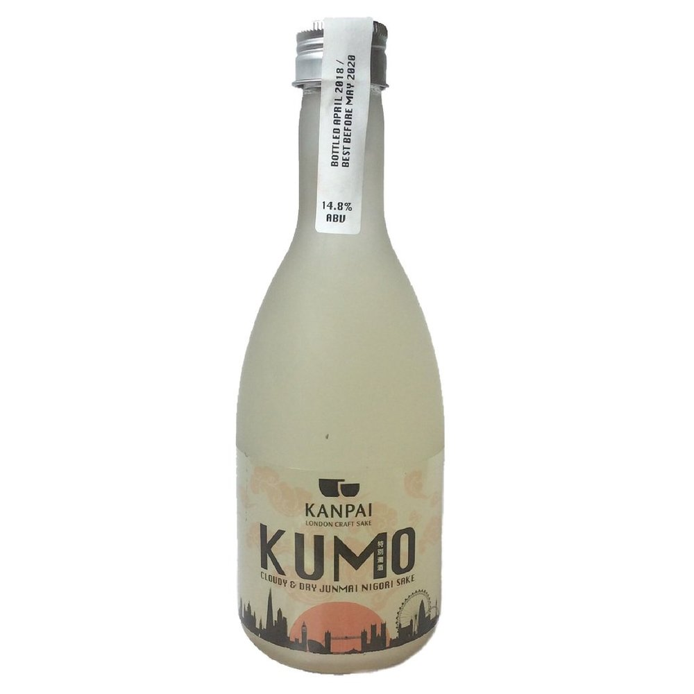KUMO - Shake it to make it! A lightly cloudy and refreshing sake with light rice sediment. Made using super premium sake rice from Japan...Style: crisp, off-dry, smooth & cloudyFlavour notes: tropical fruits & spiced banana14.8% ABVGohyakumangoku Rice - 70% Milled#7 Japanese Sake YeastBottled: April 2018Released: July 2018