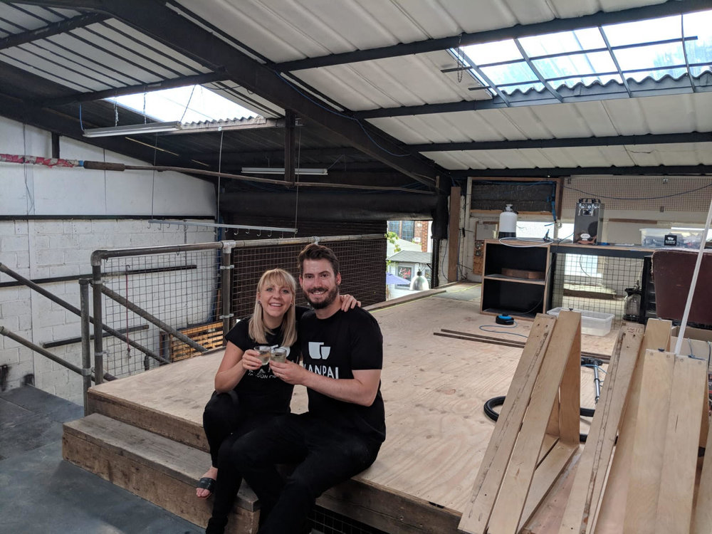 IMbibe news - Kanpai Saké crowdfunds for new brewery and taproom in Peckham