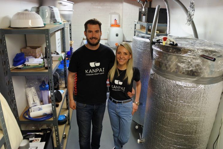 yahoo news - The UK's first sake brewery