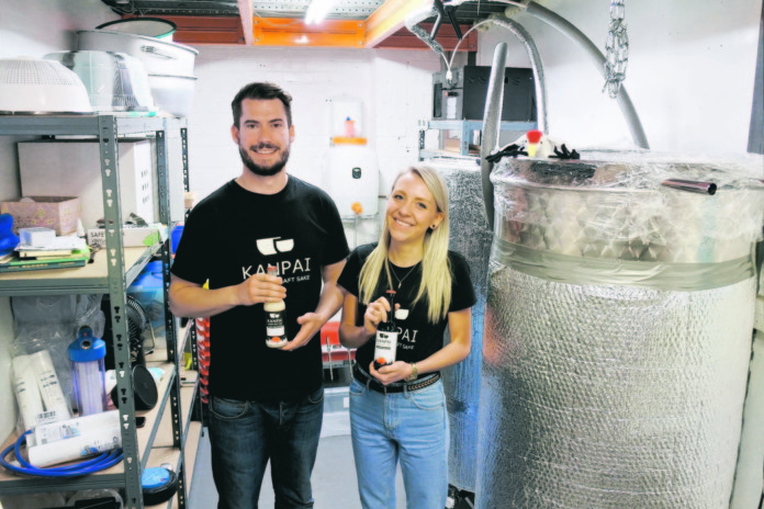 london news - T'S ALREADY A VINTAGE YEAR FOR THE UK'S FIRST SAKE BREWERY