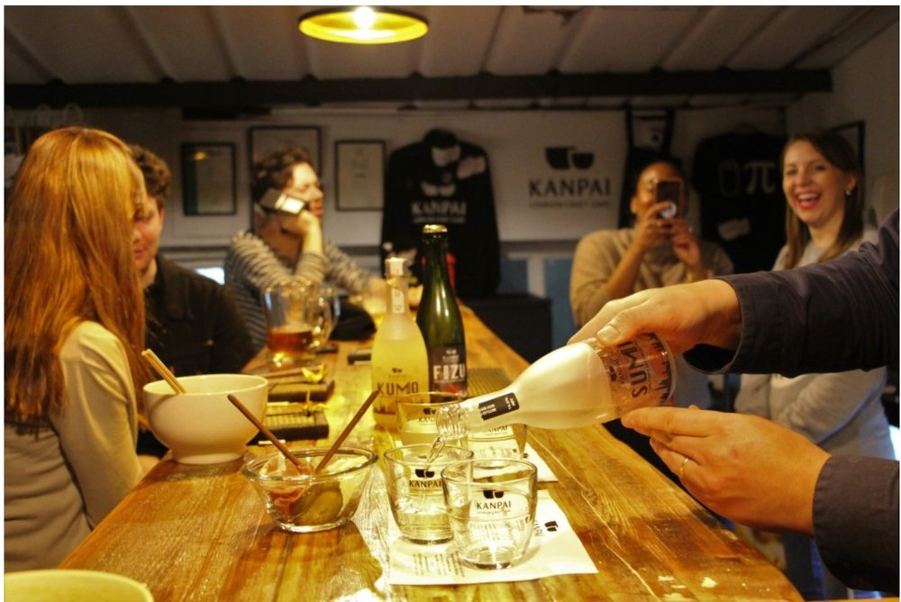 kyodo news - Campaign seeks to demystify sake for British drinkers