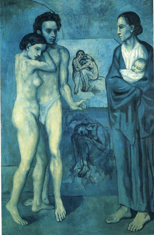La Vie, Pablo Picasso (Blue Period)