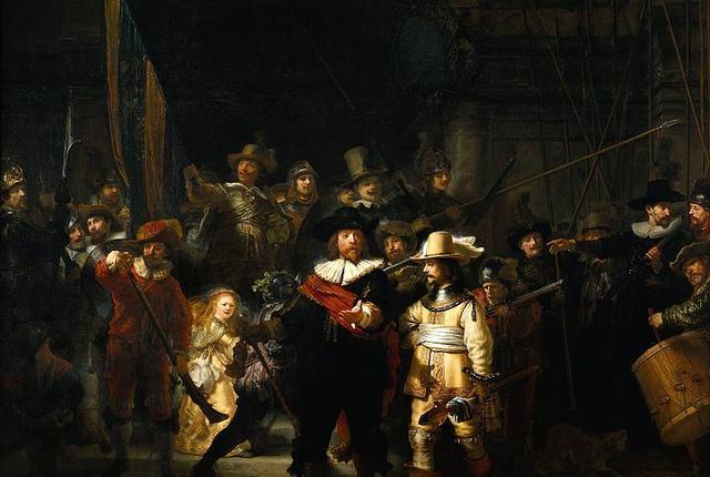 The Night Watch, Rembrandt van Rijn