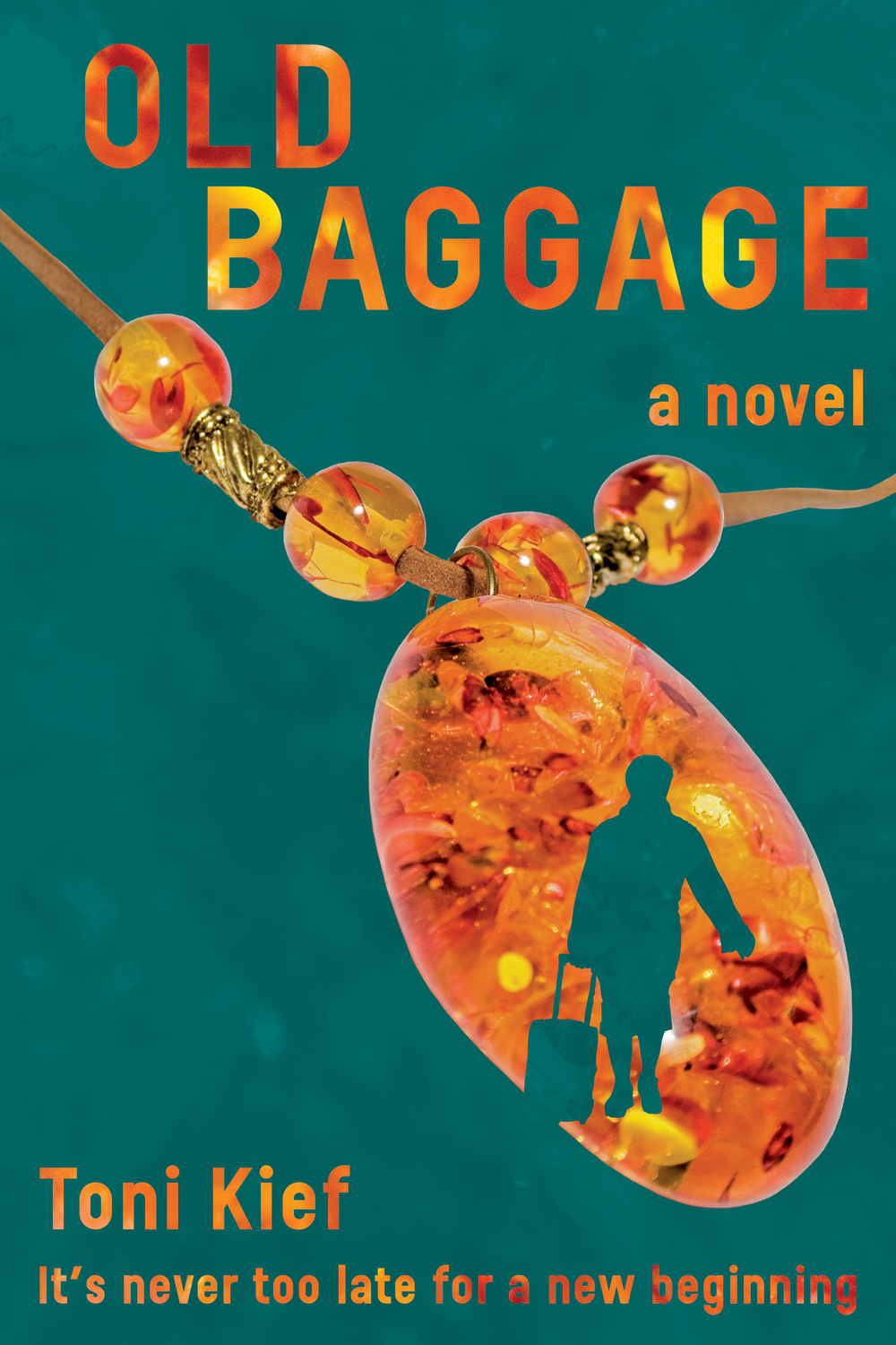 Book cover design: Old Baggage