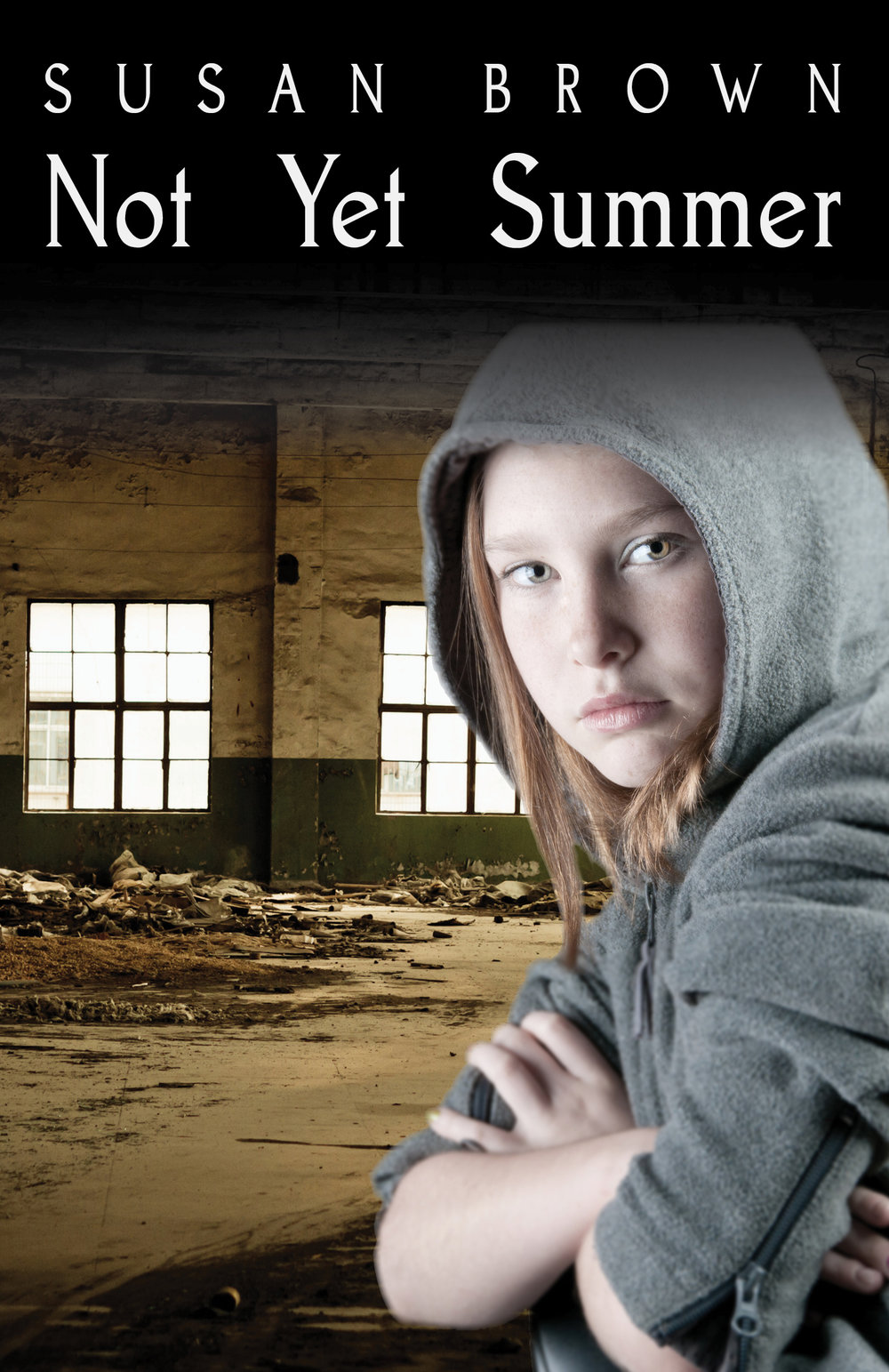 Not Yet Summer  Available in  paperback ,  Kindle  and  Kobo .  Cover artwork and interior layout provided by Cover&Layout.