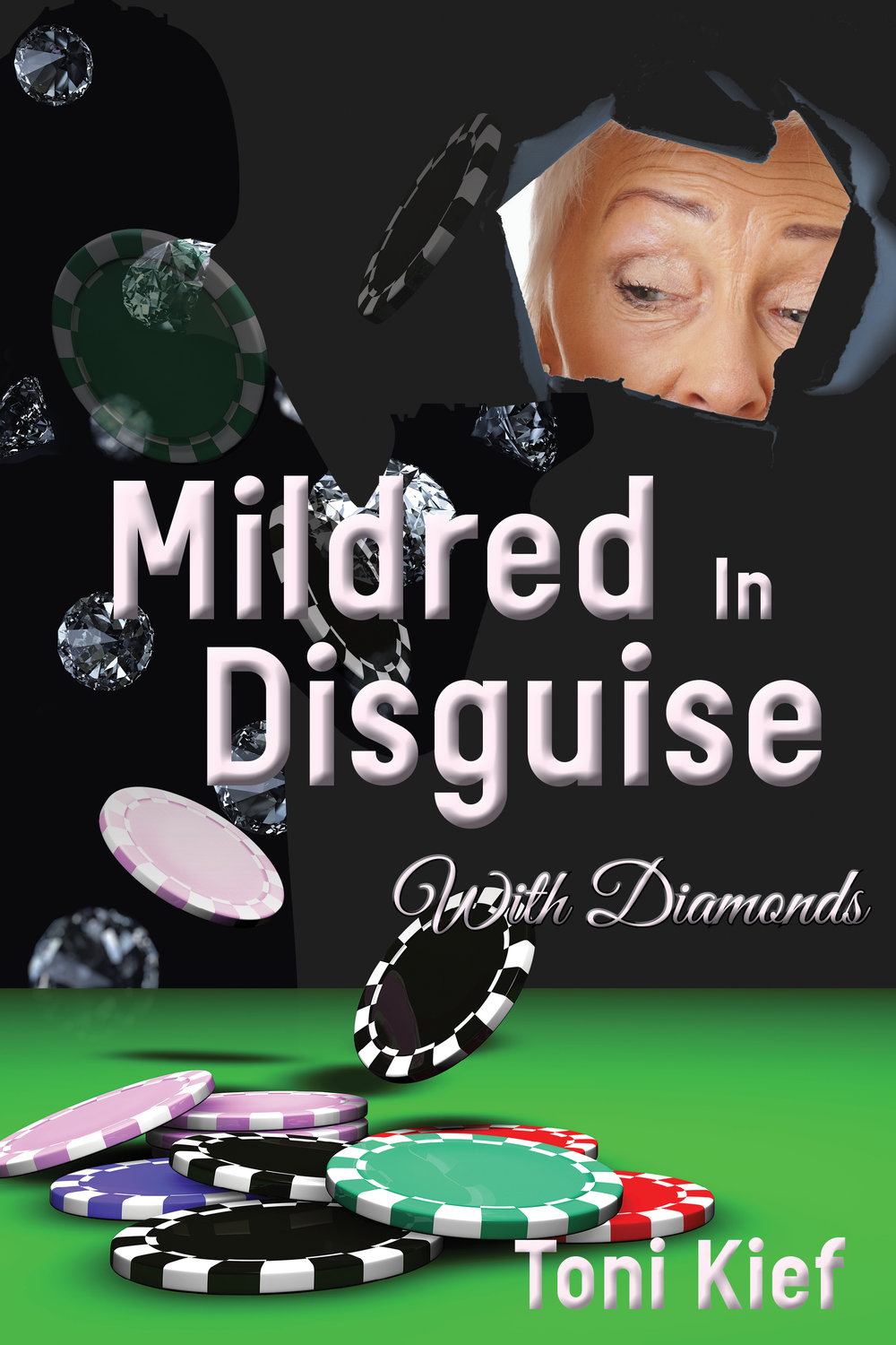 Mildred in Disguise with Diamonds Available in paperback and on Kindle. Cover artwork and interior layout design provided by Cover&Layout