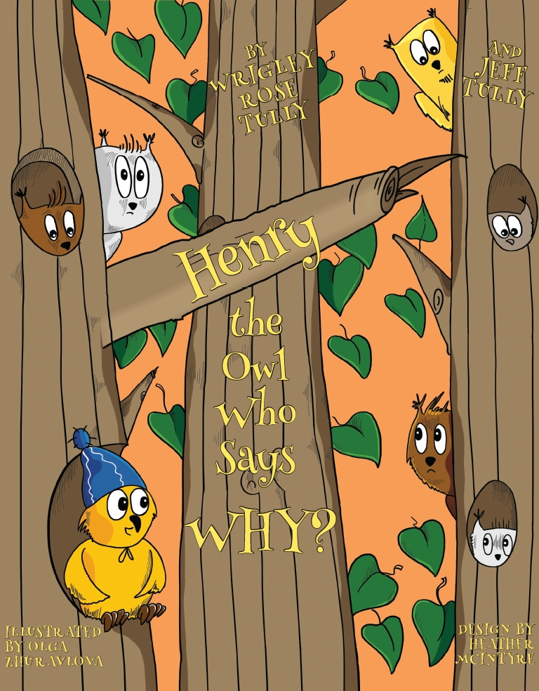 Henry, the Owl Who Says Why? by Jeff Tully