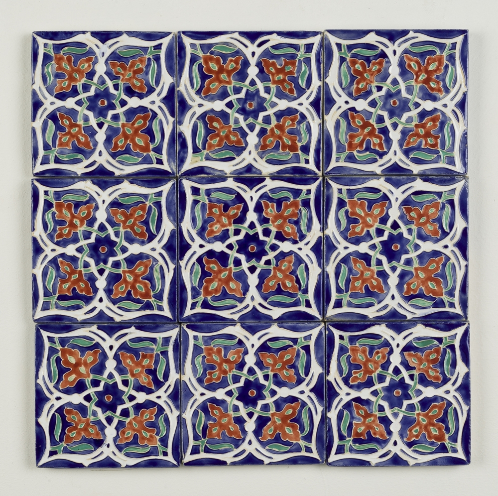 Tiles ~ Persian Art, Islimi, Geometry, Pattern Design, Shaheen Kasmani.