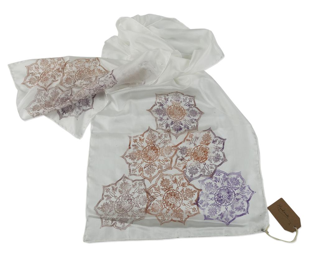 Silk Scarf ~ Pattern Design, Shaheen Kasmani.