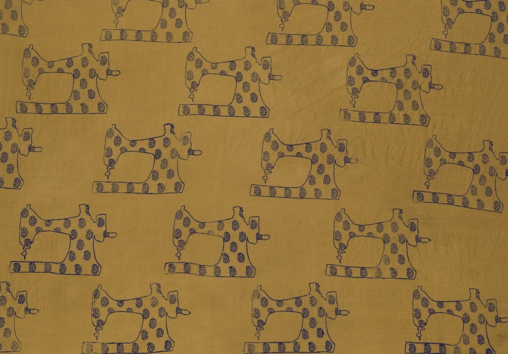 Homage to Garment Factory Workers 2 ~ Indian Art, Pattern Design, Shaheen Kasmani.