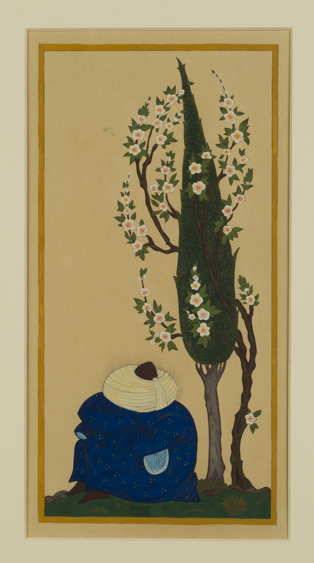 Sleeping Sufi ~ Persian Islamic Art, Pattern Design, Shaheen Kasmani.