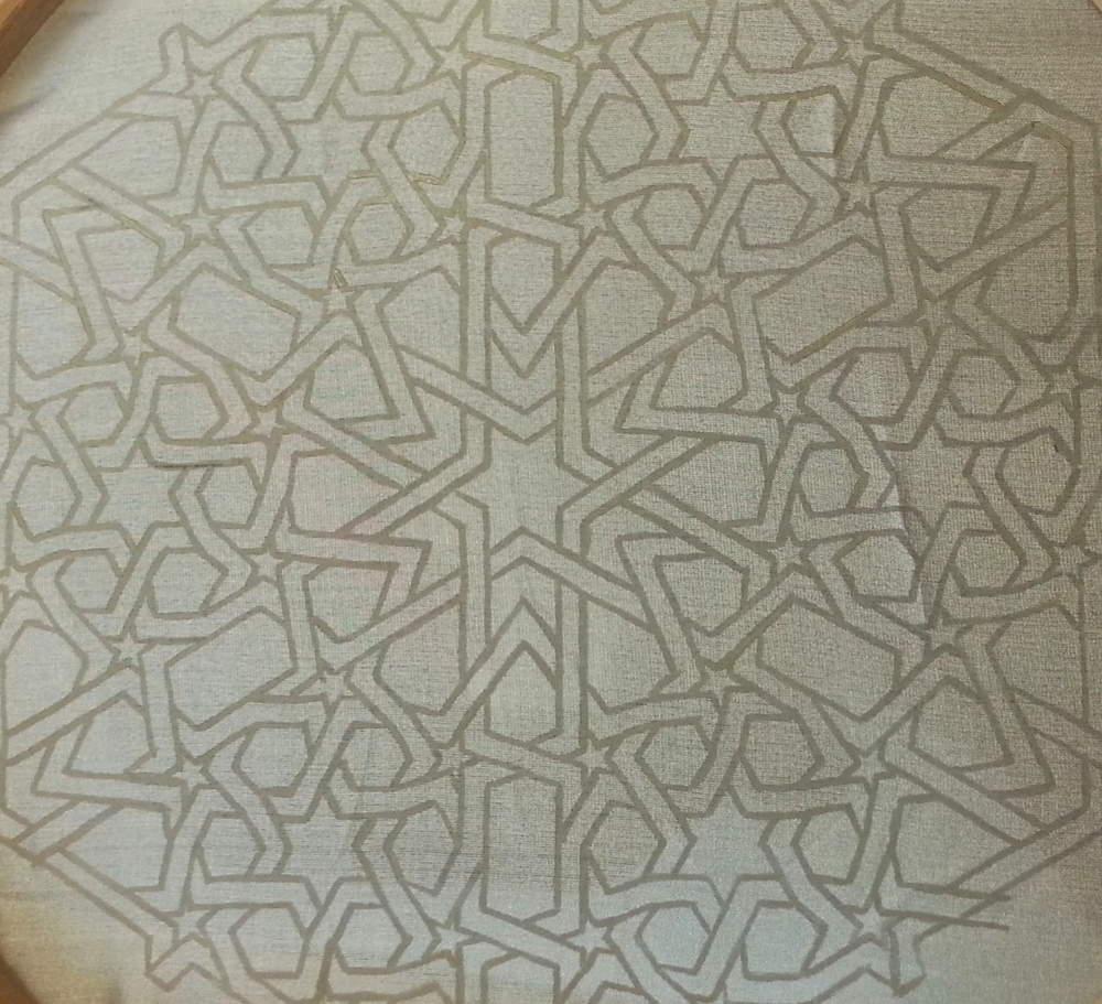 Work in Progress ~ Islamic Art, Geometry, Pattern Design, Shaheen Kasmani