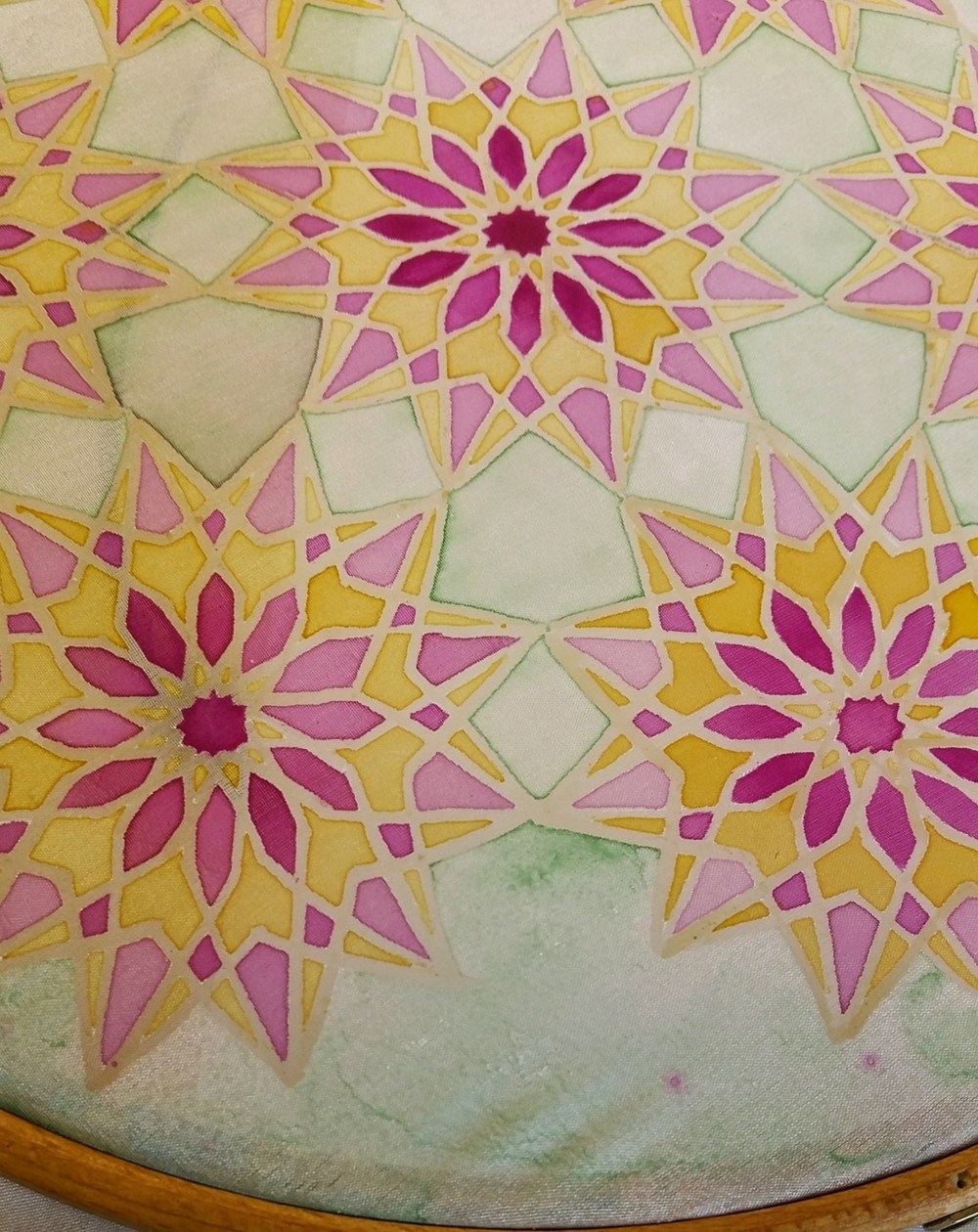 Geometry, Islamic Art, Pattern Design, Shaheen Kasmani.