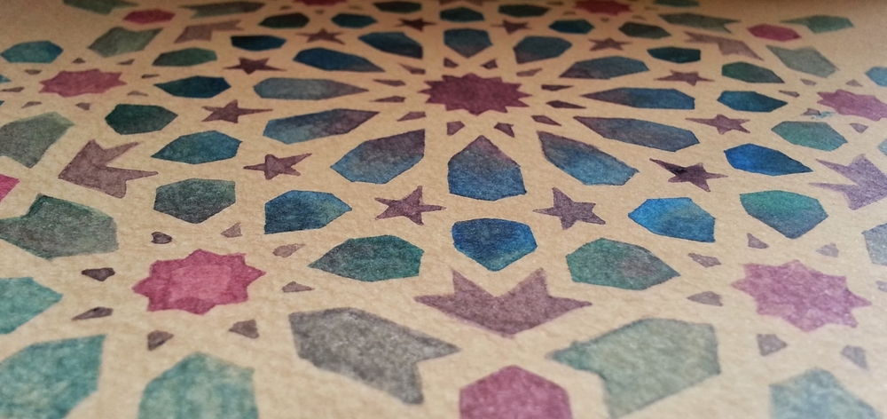Geometry ~ Islamic Art, Pattern Design, Shaheen Kasmani