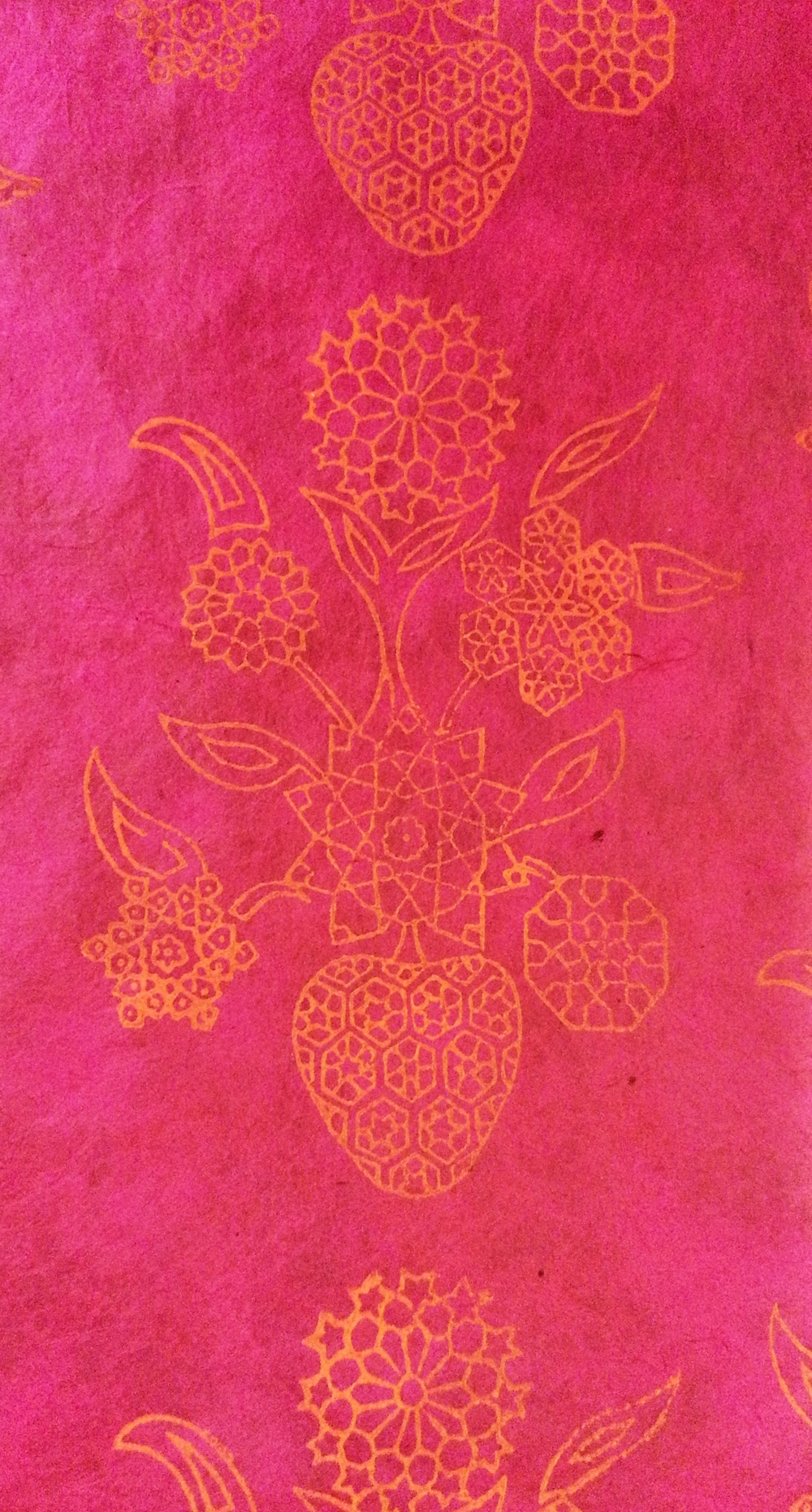 Geometric Flower ~ Mughal Art, Indian Art, Islamic Art