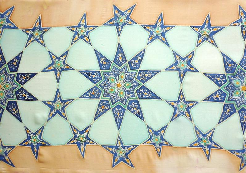 Samarkand ~ Uzbek Art, Textile Art, Islamic Art, Geometry, Islimi, Pattern Design, Shaheen Kasmani