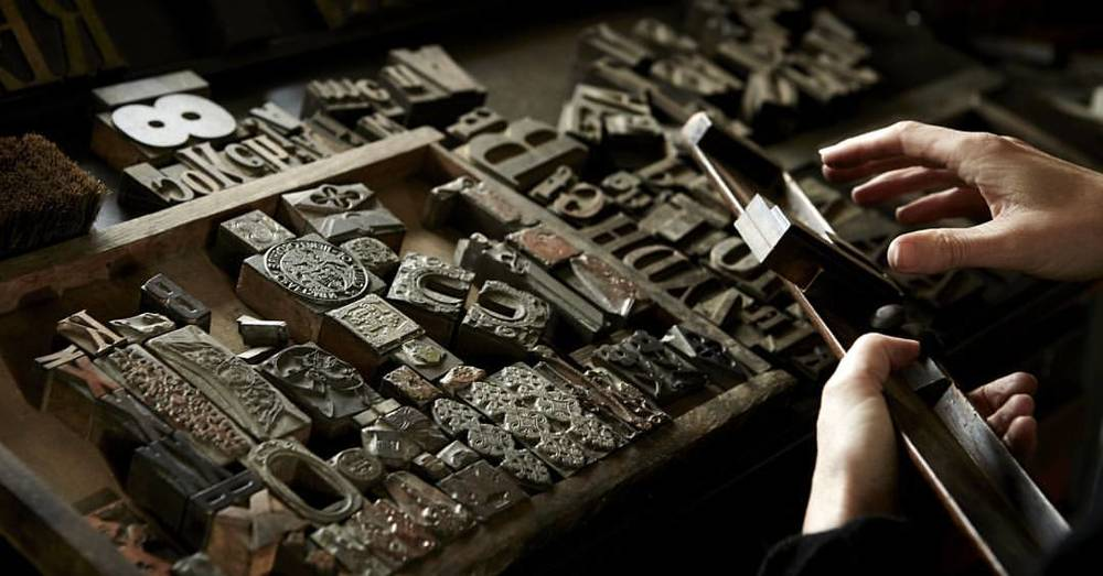 Traditional letterpress #craft  #craftsman #crafts #handmade #traditional #typography #letterpress @berrington_press