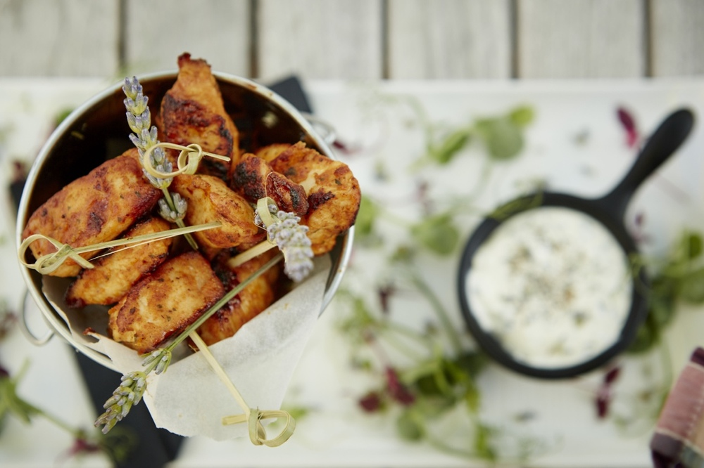 Chicken Skewers - Summer alfresco dining