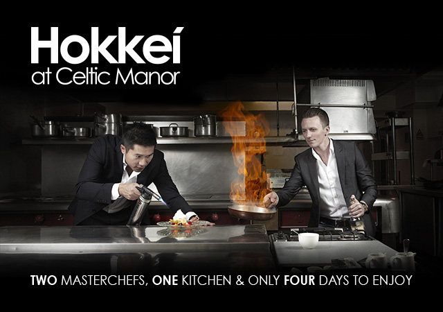 MasterChef finalists at Celtic Manor