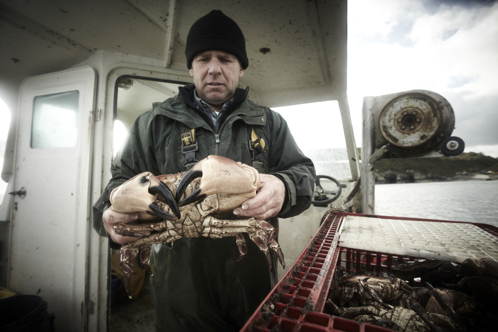 Crab Fisherman, North Wales. From the Archive, 2011