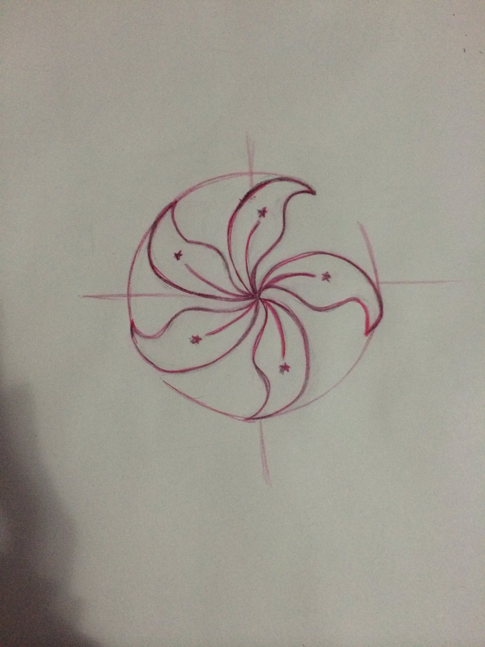A teeny little bauhinia because I'm a Hong Kong kid and proud to be.